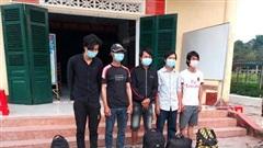 Bắt giữ 5 lao động Việt Nam tại Campuchia vượt biên trái phép