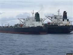 Lực lượng chức năng Indonesia giữ 2 tàu chở dầu của Iran và Panama