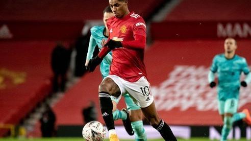 Chấm điểm cầu thủ MU và Liverpool: Rashford sáng nhất trên sân
