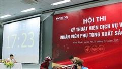 HEAD Honda nào có kỹ thuật viên dịch vụ và nhân viên phụ tùng xuất sắc nhất năm 2020?