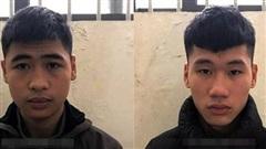 Bắt 2 đối tượng cướp giật trên đường ở thị xã Sơn Tây