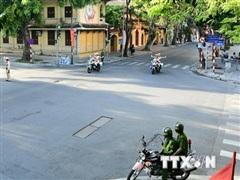 Đảm bảo giao thông thông suốt, an toàn trong thời gian Đại hội XIII