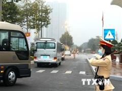Chủ động trong các phương án bảo đảm an toàn giao thông, dẫn đoàn