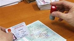 Dừng tiếp nhận hồ sơ cấp thẻ CCCD mã vạch, CMND 9 số