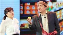 Vân Dung 'phát điên' vì Quang Thắng tại Gala cười 2021