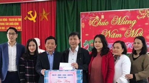 Hà Tĩnh: Trao quà Tết cho Trung tâm Giáo dục, chữa bệnh – Lao động xã hội