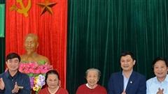 Hà Tĩnh: Chúc Tết sớm tại cơ sở nuôi dưỡng người có công, bảo trợ xã hội