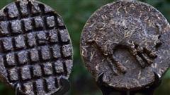 Quà tết độc đáo: Bánh trà cổ hình trâu vàng phú quý