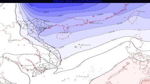 Thông tin chính thức về đợt không khí lạnh đang tràn xuống miền Bắc