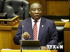 Dịch COVID-19: Tổng thống Nam Phi lên án 'chủ nghĩa dân tộc vắcxin'