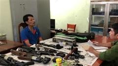 Cà Mau phát hiện 'ổ' súng tự chế của 3 người đàn ông