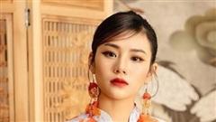 Kim Oanh làm 'nàng thơ' trong bộ sưu tập xuân của NTK Đỗ Trịnh Hoài Nam
