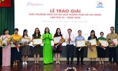 Trao Giải thưởng Báo chí Du lịch TP Hồ Chí Minh năm 2020