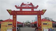 Hội chợ Xuân Tết Tân Sửu 2021: Sắc xuân sớm giữa trời đông Hà Nội