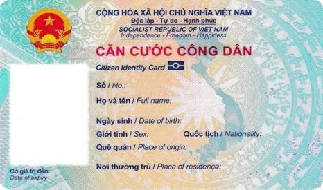 Hình dáng, kích thước thẻ căn cước công dân gắn chip như thế nào ?