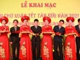 Quận Nam Từ Liêm: Khai mạc Hội chợ Xuân Tân Sửu 2021