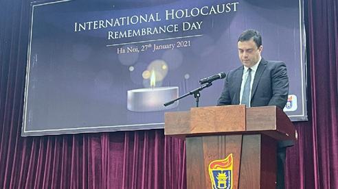 Tổ chức tưởng niệm nạn nhân Do Thái trong Thế chiến 2 tại Hà Nội