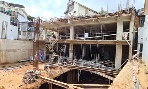 Xây khách sạn 5 tầng hầm ở thung lũng Kim Khuê ảnh hưởng 12 hộ dân, phải bồi thường