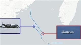Taiwan News: Máy bay tác chiến điện tử Mỹ-Trung áp sát nhau trên Biển Đông