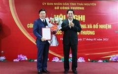 Công bố Quyết định điều động và bổ nhiệm Giám đốc Sở Công Thương tỉnh Thái Nguyên