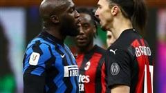 Ibrahimovic và Lukaku 'khẩu chiến' dữ dội trong trận derby Milan