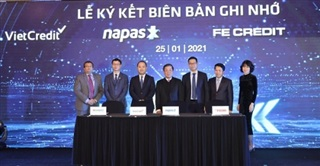 VietCredit cùng NAPAS hợp tác phát hành thẻ chip tín dụng nội địa