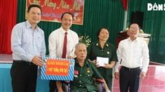 Thứ trưởng Lê Văn Thanh thăm, chúc Tết tại Trung tâm ĐDTB và NCC Long Đất