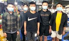 5 người Trung Quốc khai nhập cảnh trái phép ở Quảng Ninh là nói dối