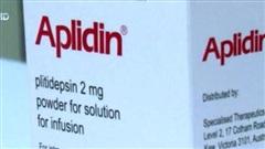 Thử nghiệm thuốc Aplidin trong điều trị COVID-19
