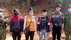 Điện Biên: Phát hiện, bắt giữ 4 đối tượng nhập cảnh trái phép vào Việt Nam
