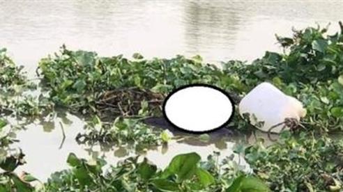 Thi thể nữ buộc vào can nhựa nổi trên mặt nước