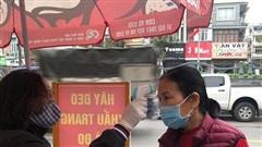 Hàng quán ở Quảng Ninh đóng cửa, ra vào chợ phải đo thân nhiệt