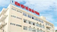 Bệnh viện Trẻ em Hải Phòng tạm dừng khám bệnh