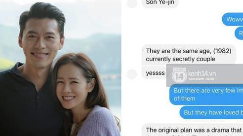 Độc quyền: Rần rần lại ảnh tin nhắn người trong Kbiz tiết lộ với bà xã Đăng Khôi chuyện Hyun Bin - Son Ye Jin hẹn hò