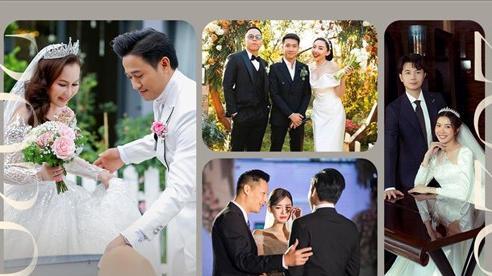 9 đám cưới sao Việt năm 2020: Quý Bình 4 lần đãi tiệc lớn, Tóc Tiên diện váy 8600 USD âm thầm lên xe hoa