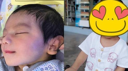 Em bé sơ sinh nổi rần rần trên mạng xã hội vì vẻ đẹp 'không góc chết' từ khi mới chào đời, 3 năm sau dung mạo ấy vẫn khiến dân mạng xao xuyến