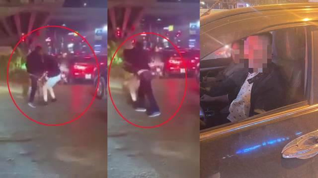 Vụ đánh người vì bị nhắc dừng xe quá lâu: Tài xế là công an?