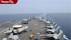 Lo ngại Iran, tàu sân bay Mỹ 'trấn yểm' Trung Đông