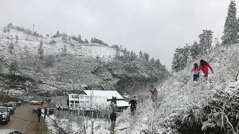 Vùng núi miền Bắc khả năng có mưa tuyết từ đêm nay