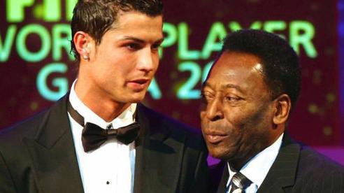 Pele đáp trả tin đồn chỉnh sửa trang cá nhân để phủ nhận thành tích của Ronaldo