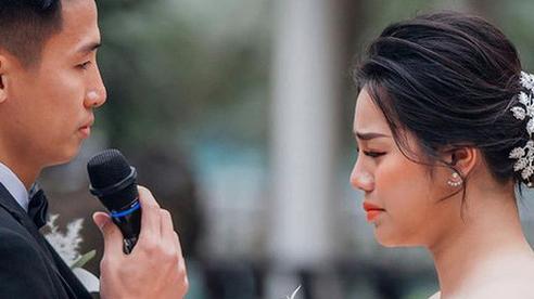 Khánh Linh bật khóc chia sẻ về Tiến Dũng: 'Em yêu anh vì những điều giản dị'
