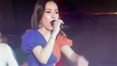 Vẫn 'sốc' khi nghe Chi Pu hát live, chênh phô không đúng nốt nào, giao lưu với fan mà lạc cả giọng