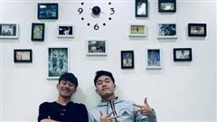 Minh Vương và Xuân Trường 'về chung một nhà', khoe góc check-in cực xinh xắn