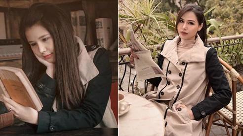 Đã là phu nhân tập đoàn nghìn tỷ nhưng Phanh Lee vẫn mặc lại chiếc áo khoác cũ từ 9 năm trước