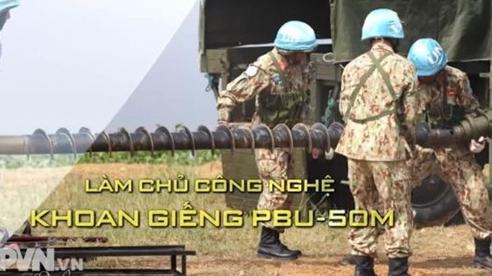 Làm chủ công nghệ khoan giếng PBU-50M