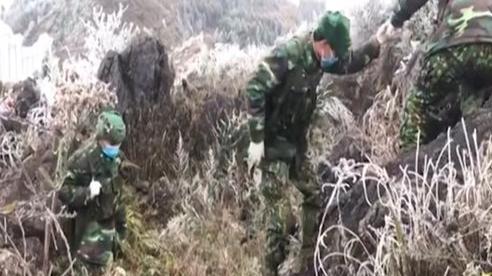 BĐBP Hà Giang đảm bảo nhiệm vụ trong giá rét