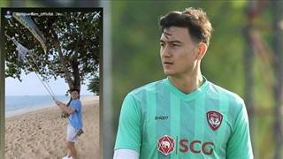 Đặng Văn Lâm bỏ tập đi biển giữa lùm xùm với Muangthong Utd