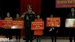 LLVT Quân khu 5 giúp ổn định cuộc sống ở Nam Trà My