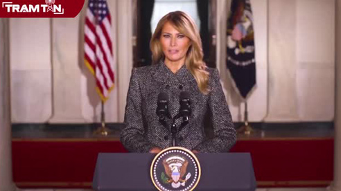 Đệ nhất phu nhân Melania Trump nói lời chia tay