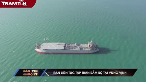 Iran tiếp tục tập trận tại vùng Vịnh
